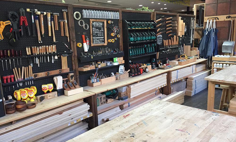 「tukuriba 二子玉川店」DIYworkshop レポート