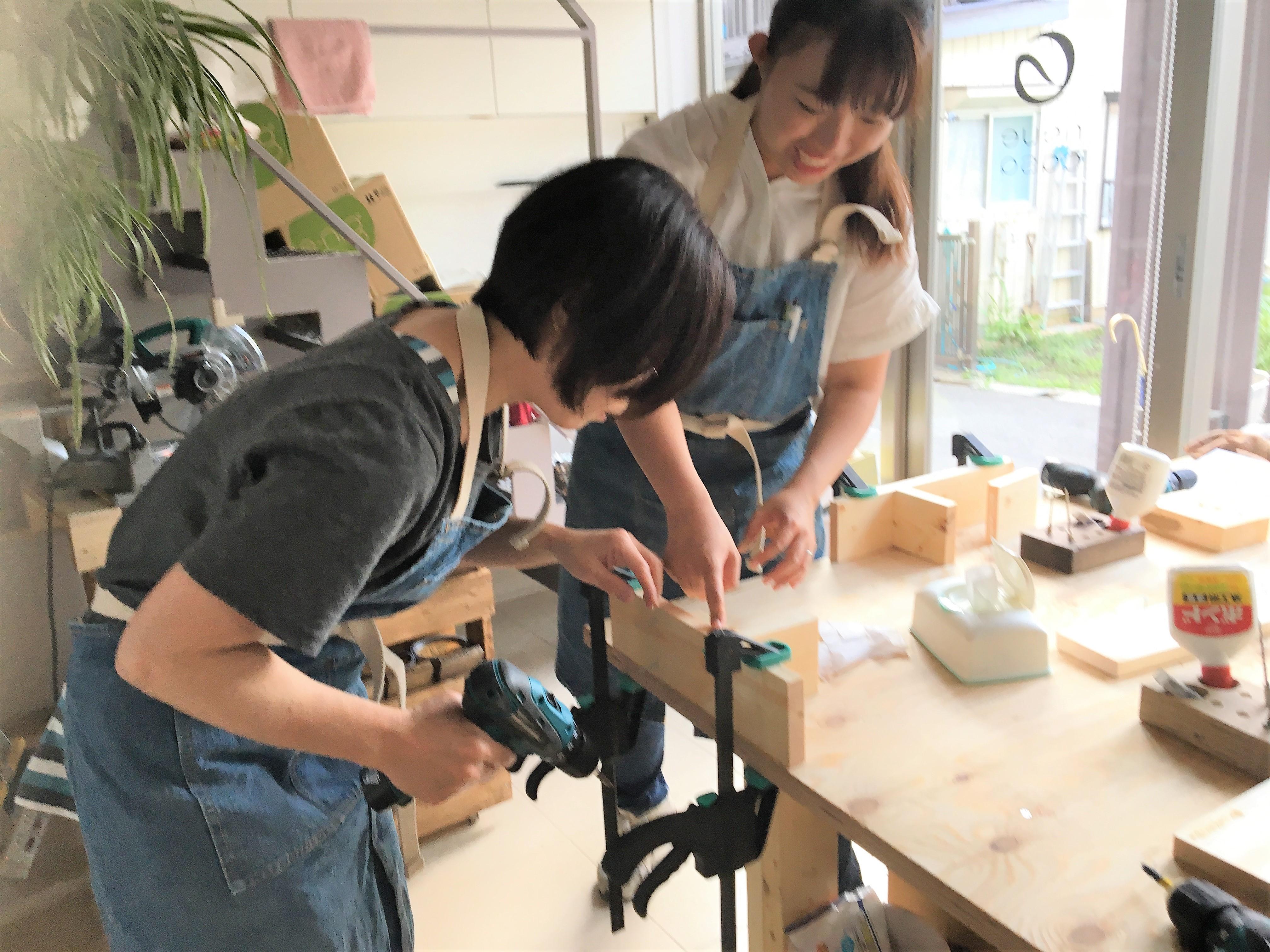 【DIYBASEさいたま中央】 埼玉県工房作りレポート!